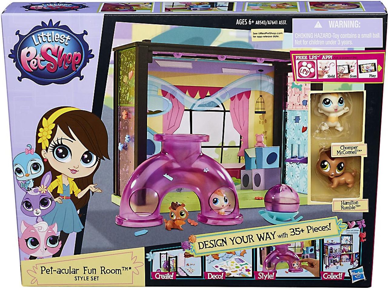Littlest Pet Shop Style Set Pet Acular Fun Room Playset Hasbro Toys Toywiz