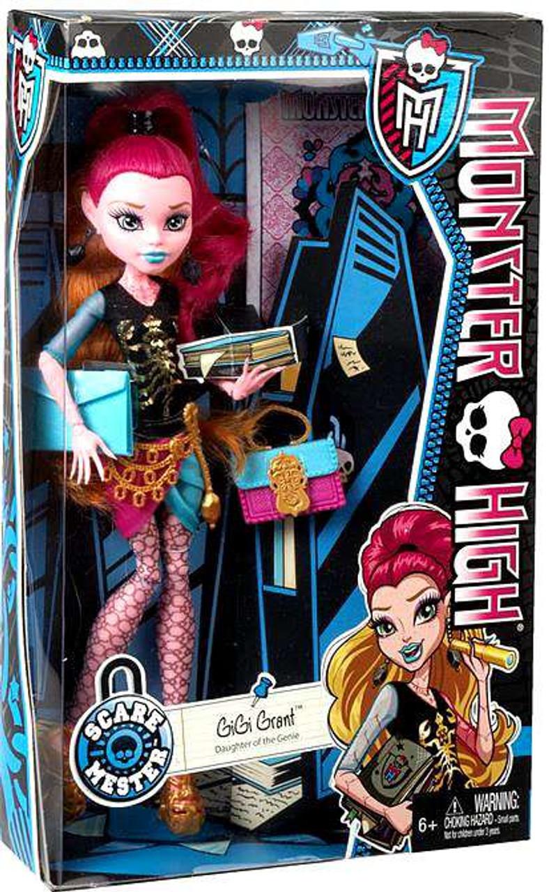 monster high scaremester gigi grant 105 doll mattel toys