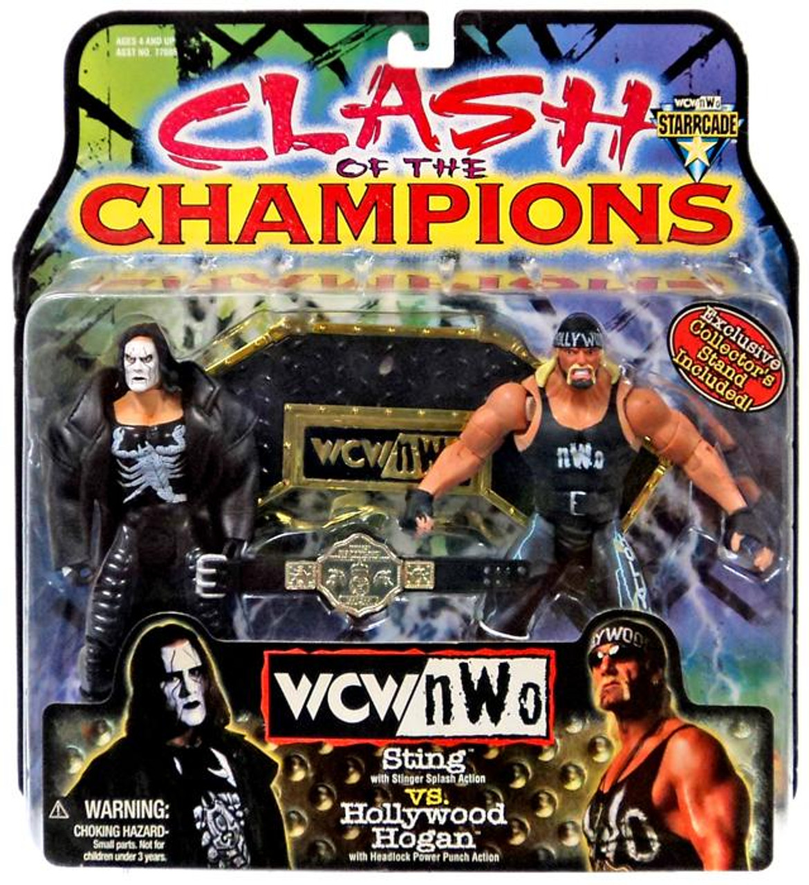 WWE Wrestling NWO Clash of the Champions Sting Vs Hollywood