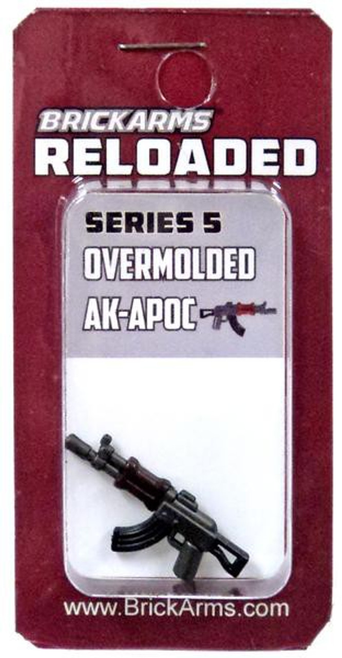 Custom Accessory for Minifigure NEW BrickArms Reloaded Series 2 Weapons AK-47