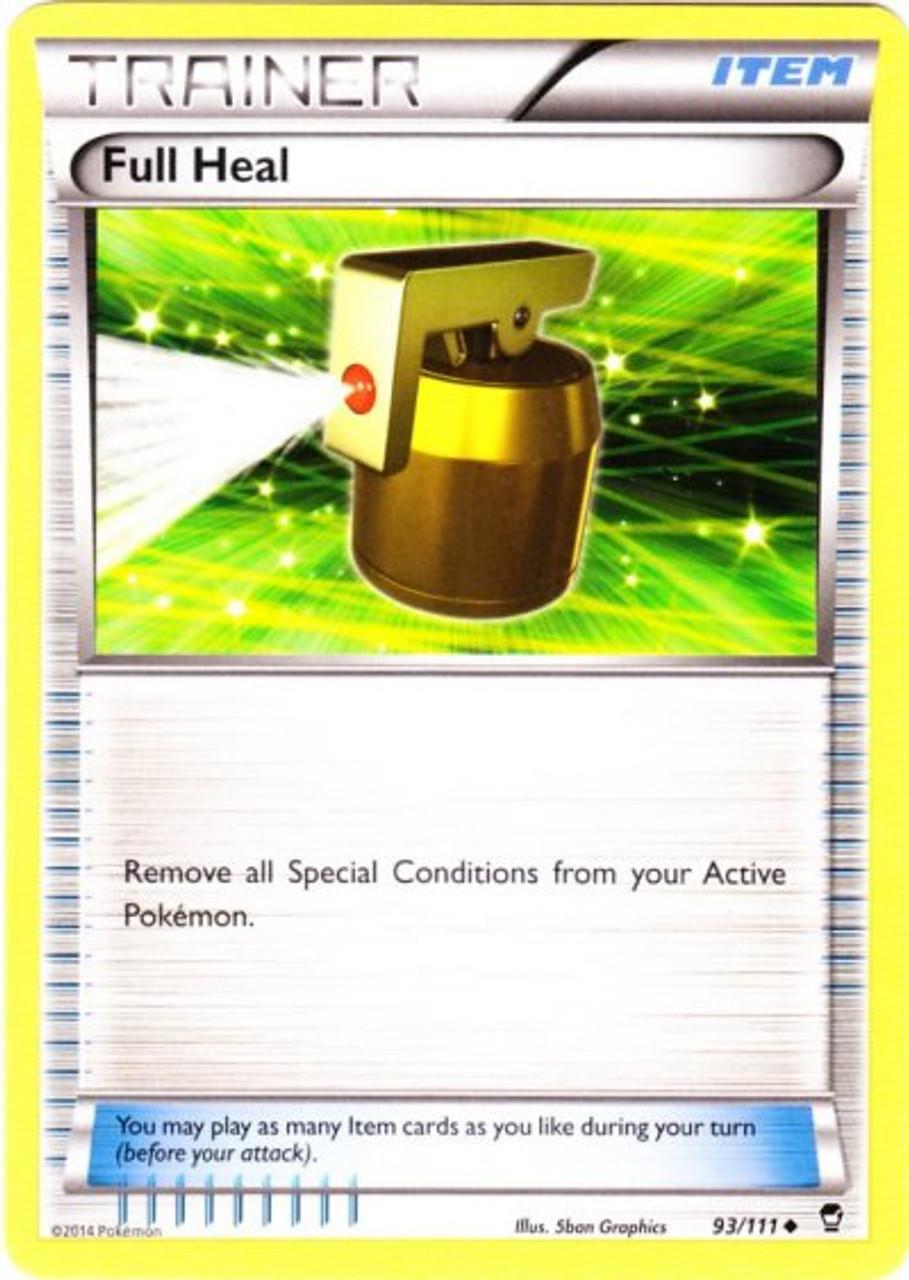 Furious Fists 93//111 Full Heal Reverse Holo Pokemon Card