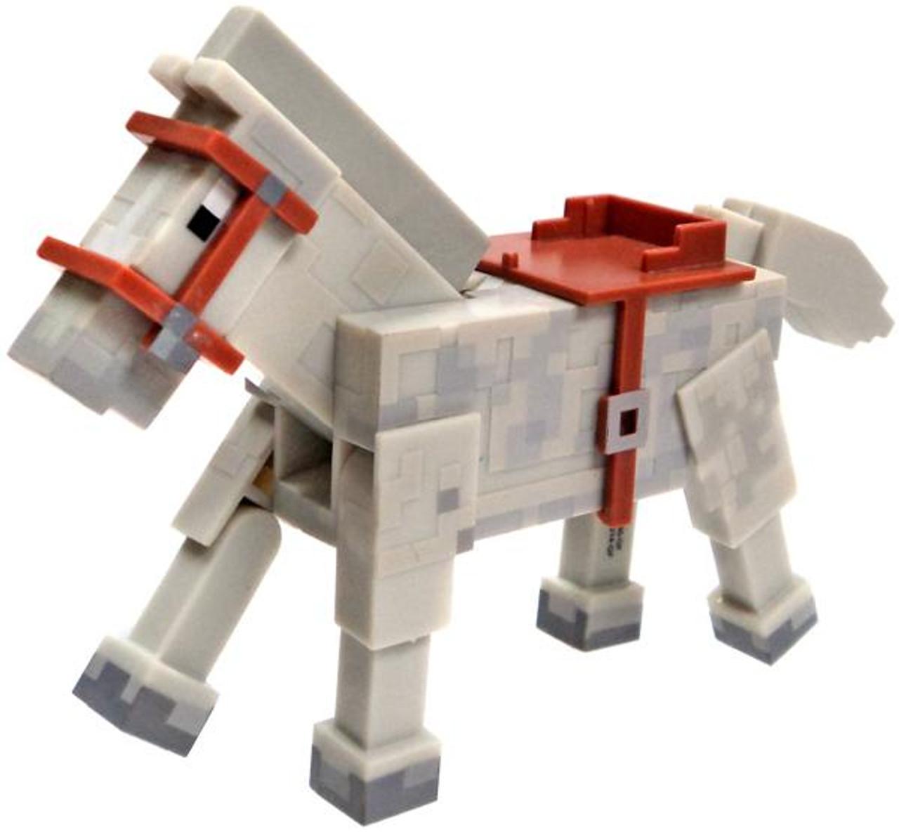 Minecraft Core Animal Horse Figure White Loose Jazwares Toywiz