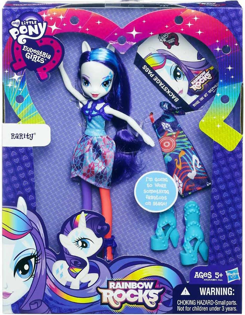 Dolls My Little Pony Equestria Girls Rainbow Rocks Rarity Doll