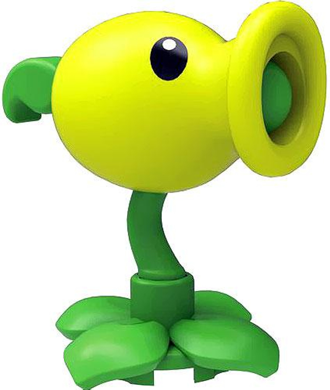 K Nex Plants Vs Zombies Peashooter 2 Inch Minifigure Light Green Loose