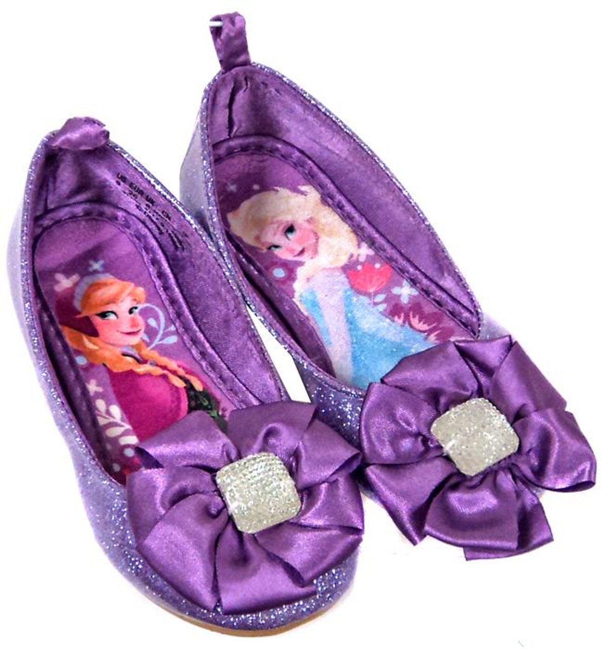 Disney Frozen Purple Anna Elsa