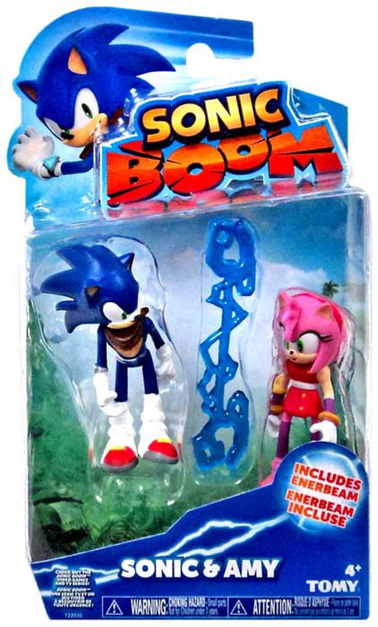 Sonic The Hedgehog Sonic Boom Sonic Amy 3 Action Figure 2 Pack Tomy Inc Toywiz