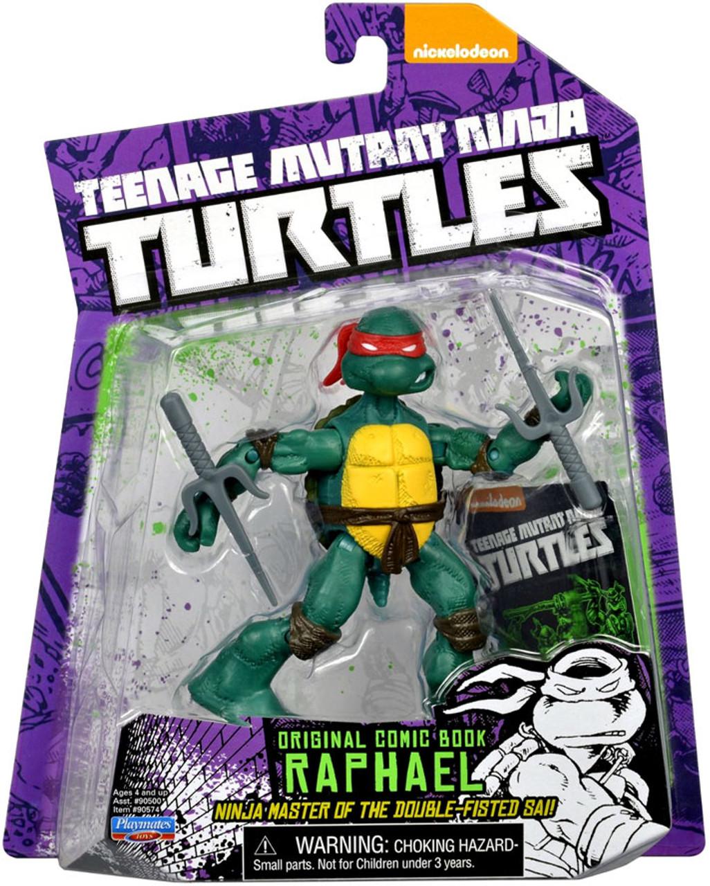 Nickelodeon Teenage Mutant Ninja Turtles Classic Raphael Figure Toy NEUF *