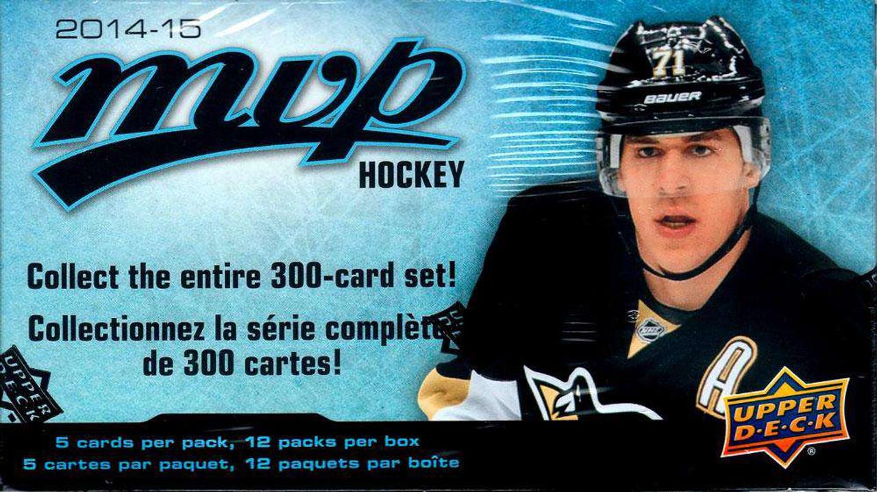 Nhl 2014 15 Mvp Hockey Trading Card Blaster Box Upper Deck Toywiz