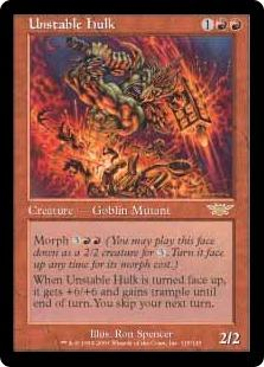 1 x MTG Forest Unstable English Moderatly Played