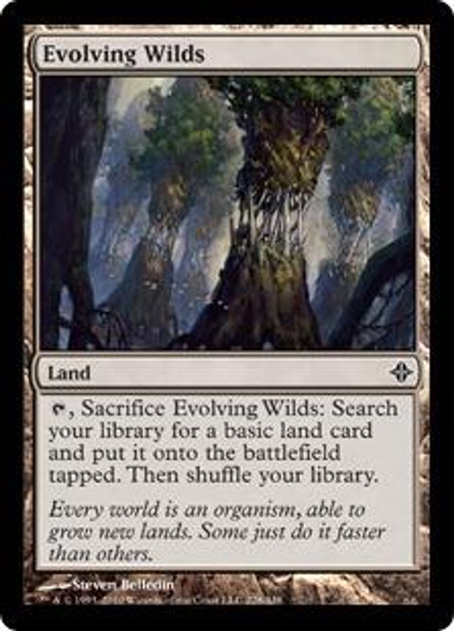 Magic the Gathering Evolving Wilds x 4 MTG Rise of the Eldrazi PLAYSET