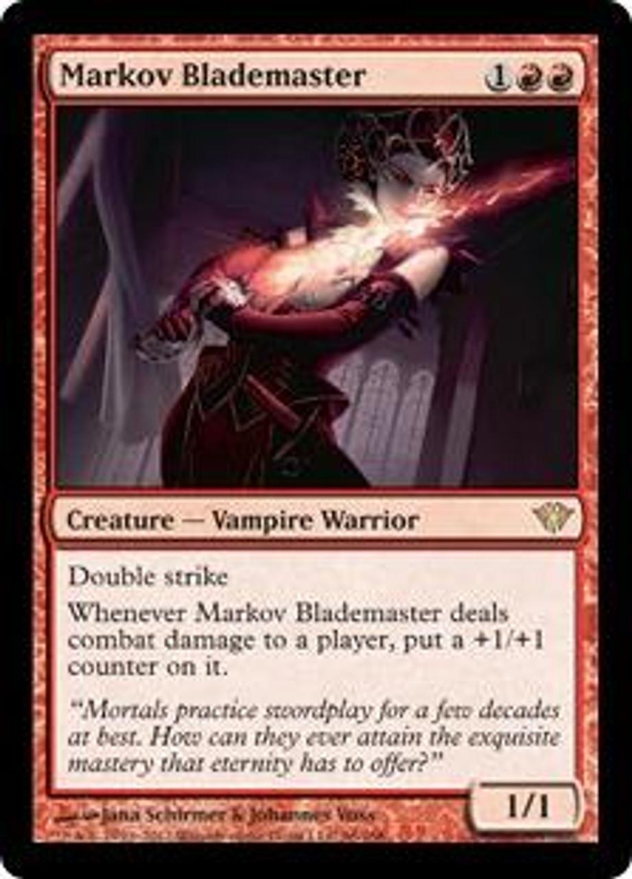 Ascension Codes Roblox Magic The Gathering Dark Ascension Single Card Rare Markov Blademaster 96 Foil Toywiz