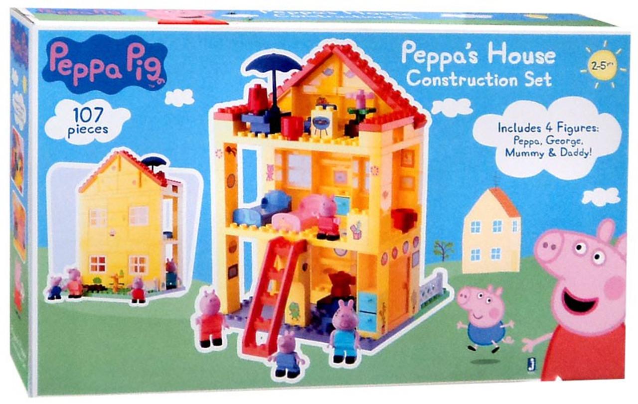 Peppas School Construction Set Jazwares Domestic 92698