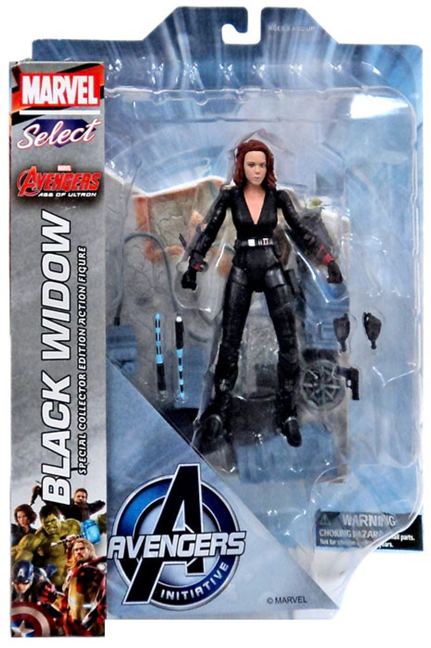 Of Widow 7 Age Marvel Ultron Select Action Avengers Black rCsxothdQB