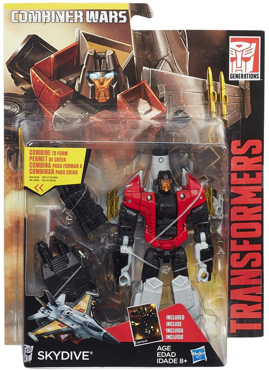 Transformers Combiner Wars SKYDIVE Complete Deluxe Jet