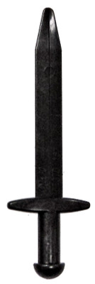 3.5 inch Meccano Elektrikit part 548 Pivot Rod
