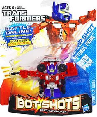 Transformers Bot Shots Battle Game Series 2 Jump Shot