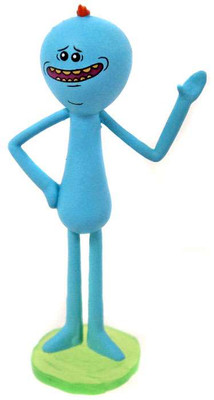 7011bf60387 Rick   Morty Happy Mr. Meeseeks 2-Inch Mini Figure  Loose