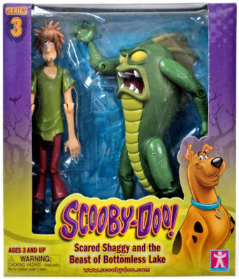 1d75a5272c Scooby Doo Series 3 Scared Shaggy   The Beast of Bottomless Lake Action  Figure 2-Pack