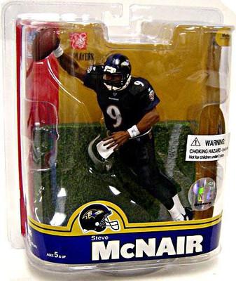 a33057fc8 McFarlane Toys NFL Baltimore Ravens Sports Picks Series 16 Steve McNair Action  Figure  Damaged Package