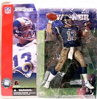 sale retailer 70a96 9676e McFarlane Toys NFL St. Louis Rams Sports Picks Series 1 Kurt Warner Action  Figure [Blue Jersey Variant]