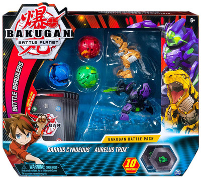 All of the bakugan toys