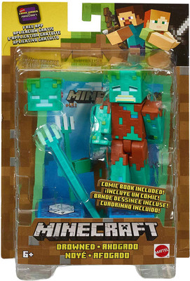 MINECRAFT PLUSH TOYS, ACTION FIGURES & PAPERCRAFT On Sale at