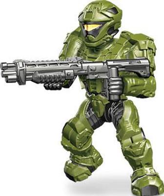 Halo Mega Bloks Set #97520 UNSC Silver Spartan with Reach Assault Rifle