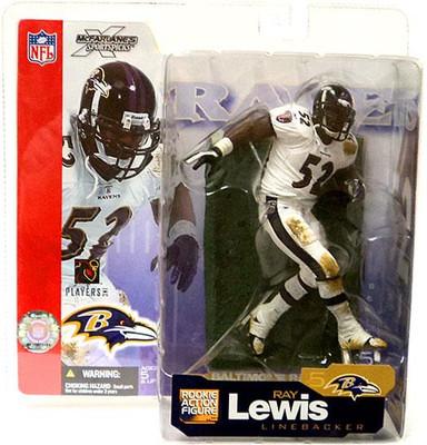 1607308d6 McFarlane Toys NFL Baltimore Ravens Sports Picks Series 5 Ray Lewis Action  Figure  White Jersey
