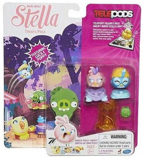 Angry Birds Stella Telepods Treats Exclusive Figure 2-Pack [Luca & Poppy]