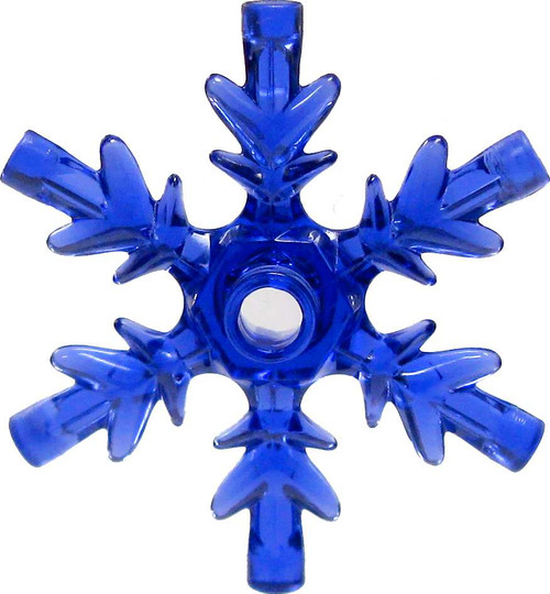 LEGO Disney Frozen Large Snowflake [Trans Purple Loose]