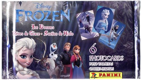 Disney Frozen Panini Frozen Ice Dreams Photocard Pack
