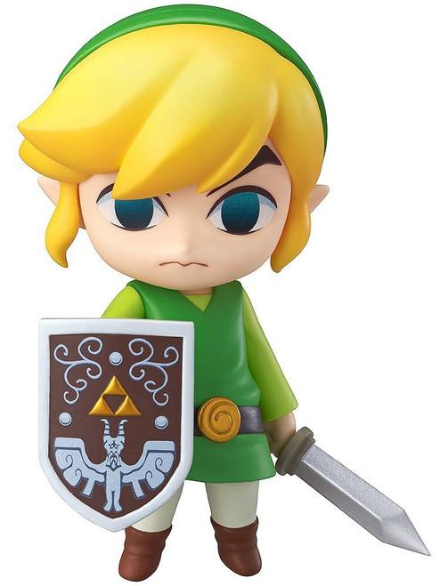 The Legend of Zelda Wind Waker Nendoroid Link Action Figure #413 [Wind Waker, 2014]