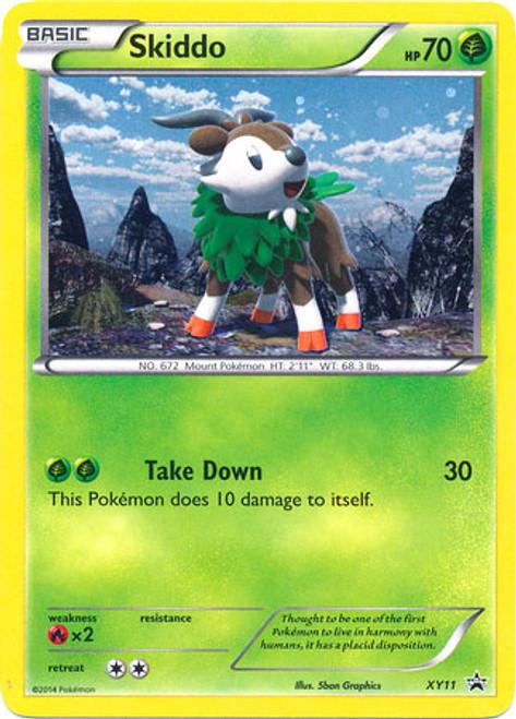 Pokemon X & Y Promo Rare Holo Skiddo XY11
