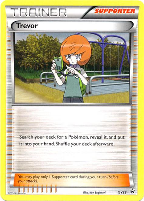 Pokemon X & Y Promo Rare Trevor XY33