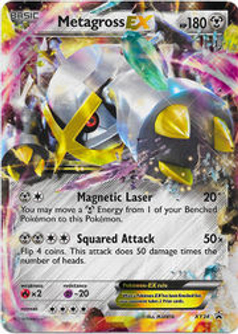 Pokemon X & Y Promo Ultra Rare Metagross EX XY34