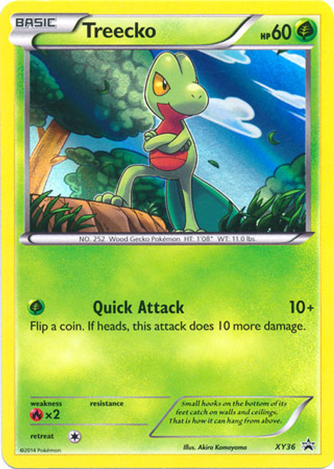 Pokemon X & Y Promo Rare Holo Treeko XY36