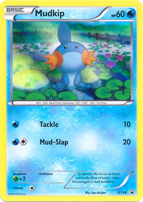 Pokemon X & Y Promo Rare Holo Mudkip XY38