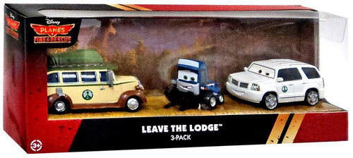 Disney Planes Planes Fire & Rescue Leave the Lodge Exclusive Diecast Vehicle 3-Pack