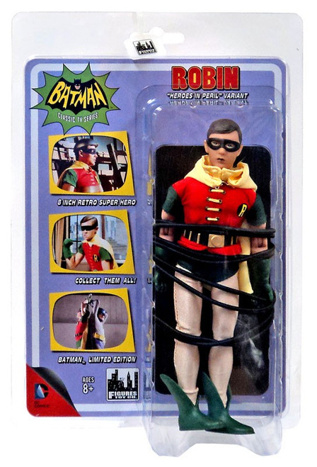 Batman 1966 TV Series Classic TV Heroes in Peril Robin Action Figure [Hero in Peril]