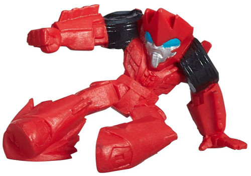 "Transformers Robots in Disguise Tiny Titans Series 1 Sideswipe 2-Inch 2"" PVC Figures [Loose]"