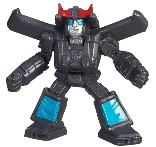 "Transformers Robots in Disguise Tiny Titans Series 1 Prowl 2-Inch 2"" PVC Figures [Loose]"