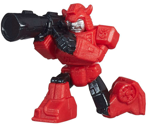 """Transformers Robots in Disguise Tiny Titans Series 1 Cliffjumper 2-Inch 2"""" PVC Figures [Loose]"""