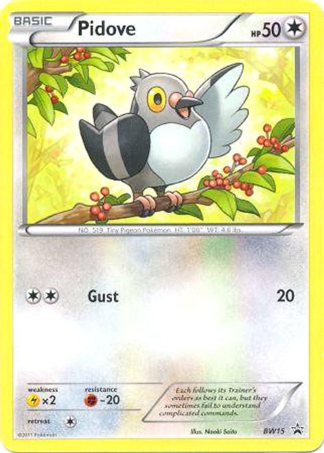Pokemon Black & White Promo Promo Pidove BW15