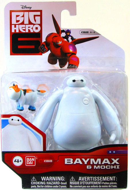 Big Hero 6 Baymax & Mochi Action Figure 2-Pack