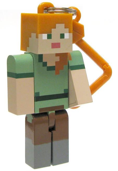 Minecraft Hangers Series 2 Alex 3-Inch Keychain [Loose]