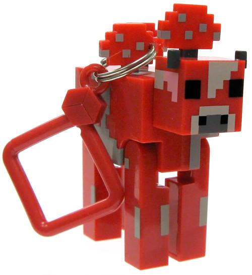 Minecraft Hangers Series 2 Mooshroom 3-Inch Keychain [Loose]