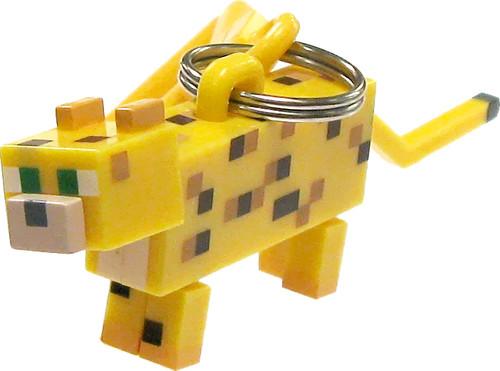 Minecraft Hangers Series 2 Ocelot 3-Inch Keychain [Loose]