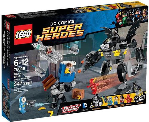 LEGO DC Super Heroes Gorilla Grodd Goes Bananas Set #76026