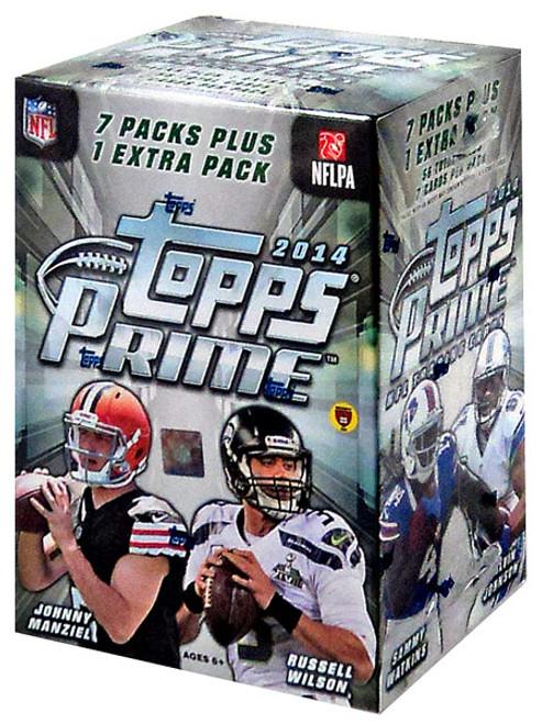 NFL 2014 Topps Football Cards Trading Card BLASTER Box [Prime]
