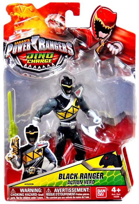 Power Rangers Dino Charge Black Ranger Action Figure